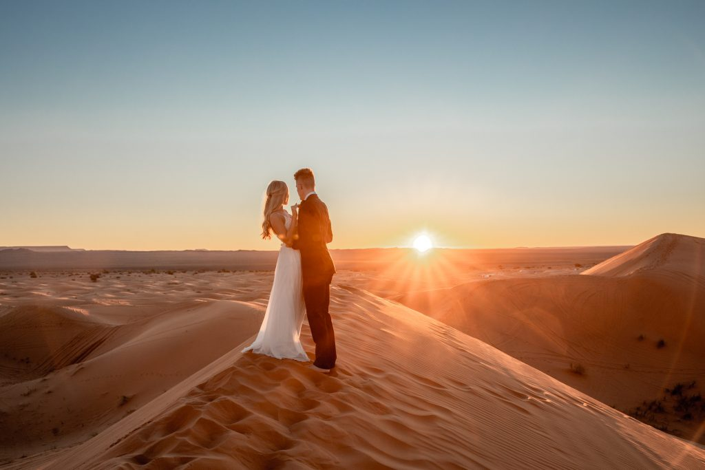 morocco wedding desert