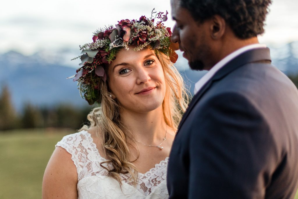 floral wreath for wedding
