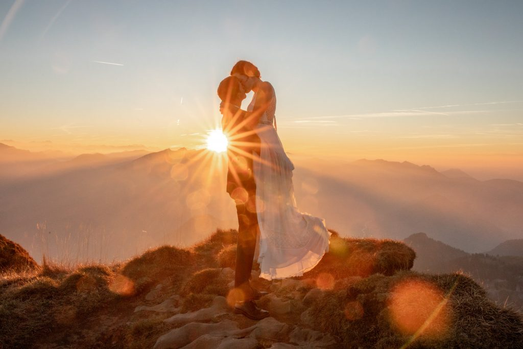 wedding pictures in the austrian alps